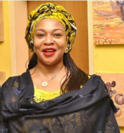 Saraki Defection: Bukola Saraki's Sister, Gbemi Stays In APC, Vows To Win Kwara For Buhari Gbemi10