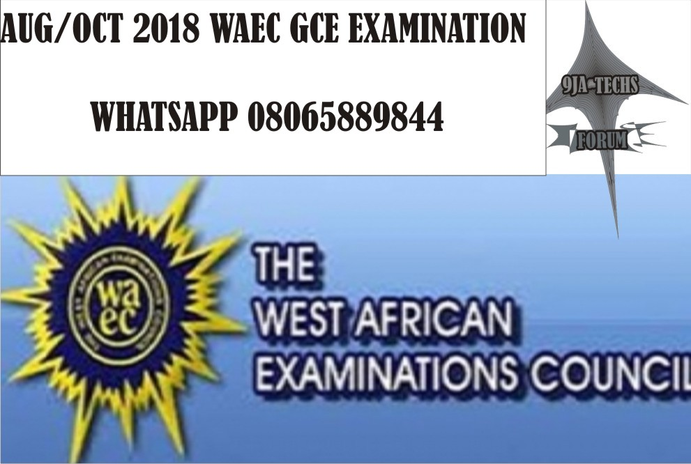 2018 Waec Gce Geography Objective  and Essay Questions and Answers | Waec Exam Runs Graphi16