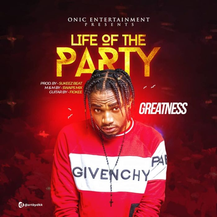 [Download Music] Greatness – Life Of The Party Greatn10
