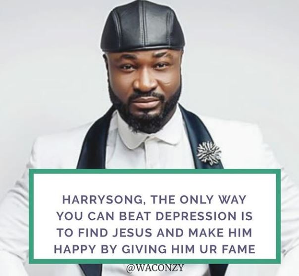 Dear Harrysong, Jesus Is The Only Way Put Of Depression – Singer Says Harrys12