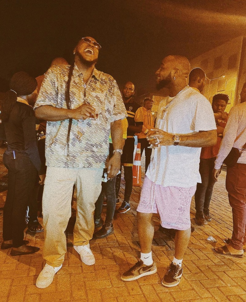 "Peruzzi Defines His Relationship With Davido As ""Unbreakable"" (See Photo) Huncho10"