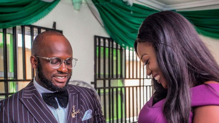 Comedian I Go Save Ties Knot With His Fiancee As They Hold A Customary Wedding I-go-s11