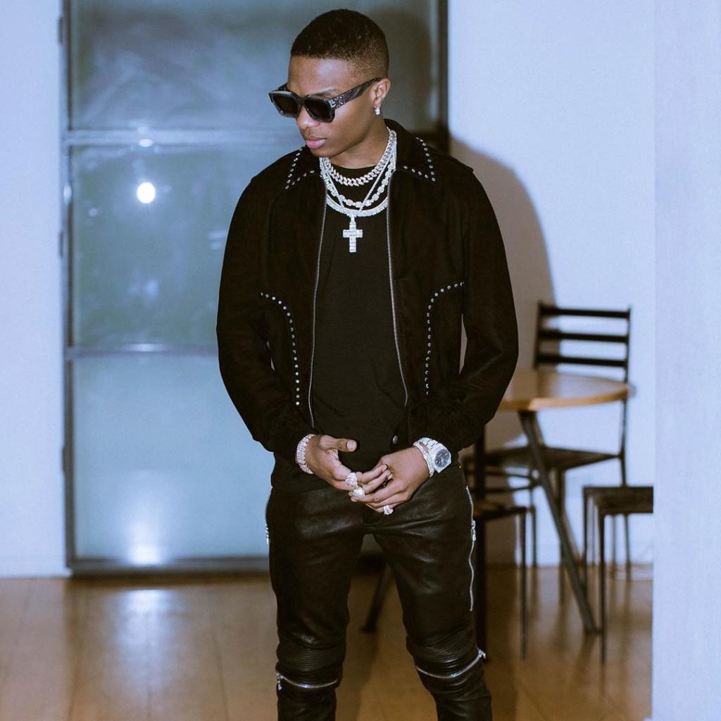 Wizkid Becomes 2nd Most Followed Male Artsite In Nigeria After Hitting 10 Million Followers On Instagram Ia_87410