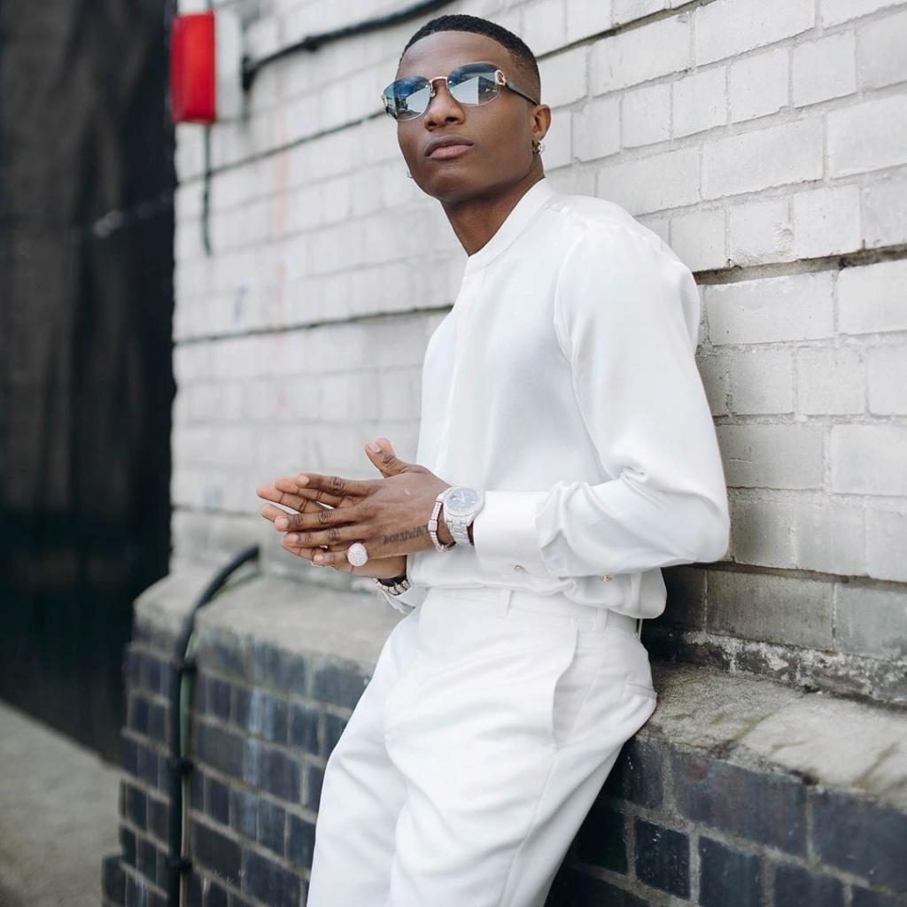 Wizkid Becomes 2nd Most Followed Male Artsite In Nigeria After Hitting 10 Million Followers On Instagram Ia_87610