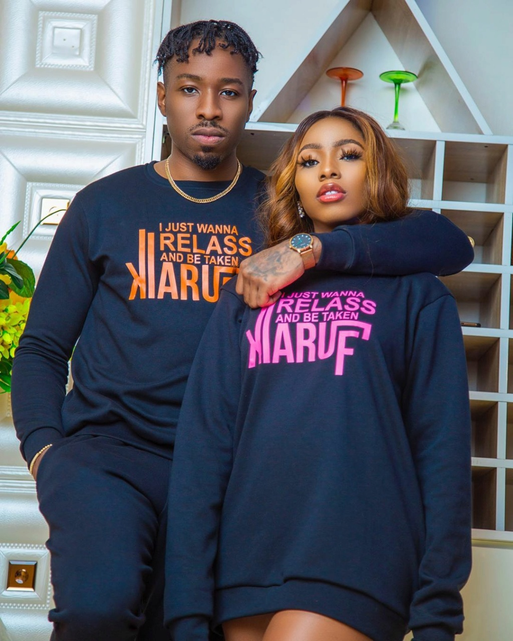 Engagement Ring? Guests Scream As Ike Presents Mercy With A Small Box During Her Party (Video) Iam_ik11