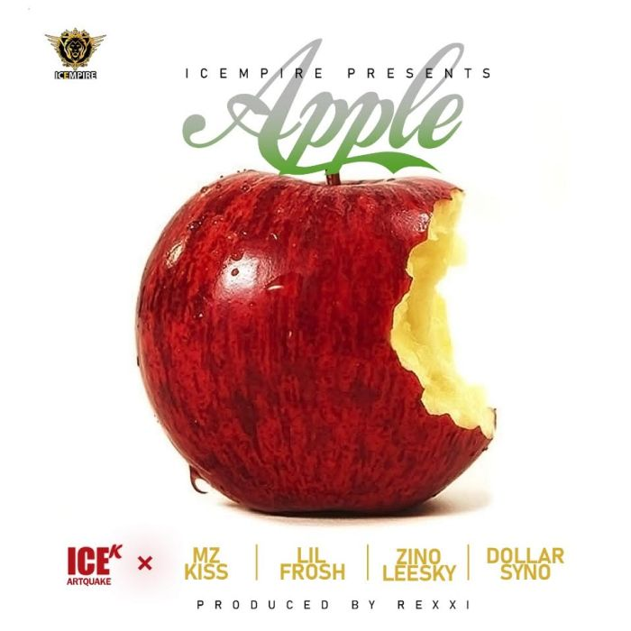 "ICE-K ArtQuake – ""Apple"" Ft. Mz Kiss, Lil Frosh, Zinoleesky, Dollarsyno 