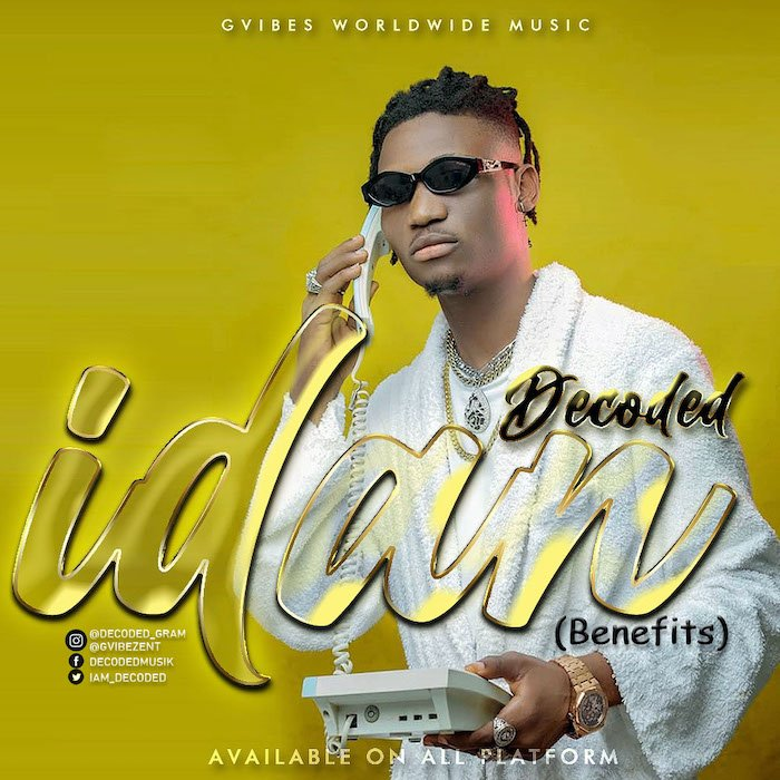 [Music] Decoded – Idan | Mp3 Idan610