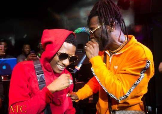 Watch Burna Boy Bring Out Wizkid For A Performance At His Majestic Concert At The Wembley SSE Arena In London Images42