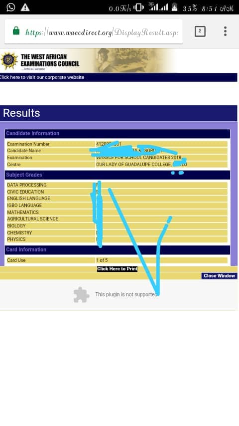 How To Get 2018 Waec Gce Questions and answers   Aug/Oct Waec Exam  Img-2019