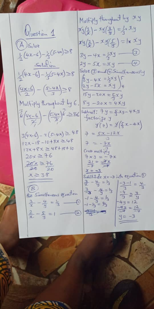 2018 Waec Gce Mathematics Objective and Theory Questions and Answers   Waec Exam Expo  Img-2075