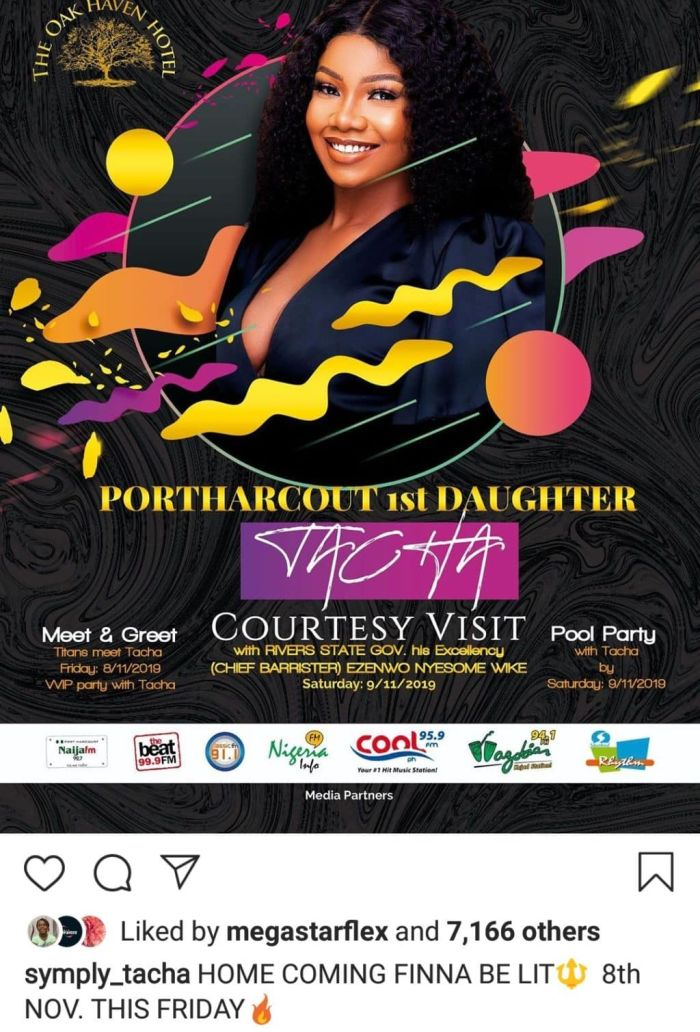 Tacha Returns To Instagram As She Sets For Her Homecoming Party In Port Harcourt Img_2055