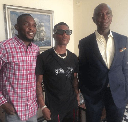 Keep your wife well, E get reason – Media user tells Ned Nwoko as he links up with Wizkid Img_2133