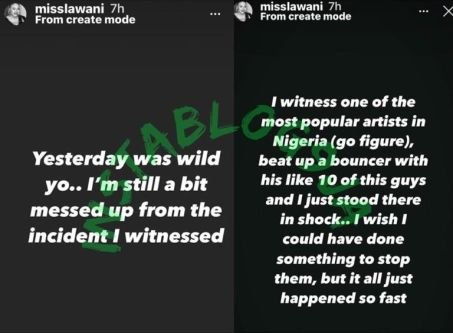 Davido Called Out For Allegedly Beating Up Bouncer Till He Started Bleeding Img_2232