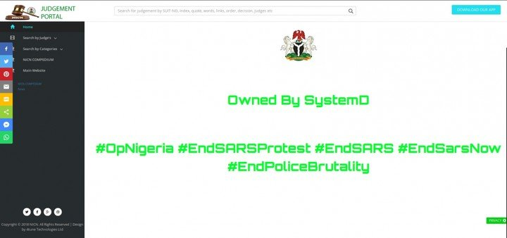 Hackers Take Over Industrial Court's Website, Leak Edo State Contracts Details Indust10