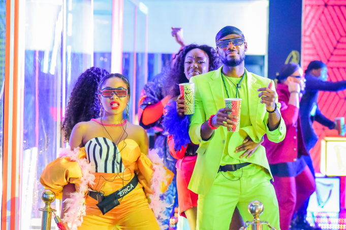 2020BBNaija: Colorful Photos From The Second Lockdown Night Party. Inn_6910