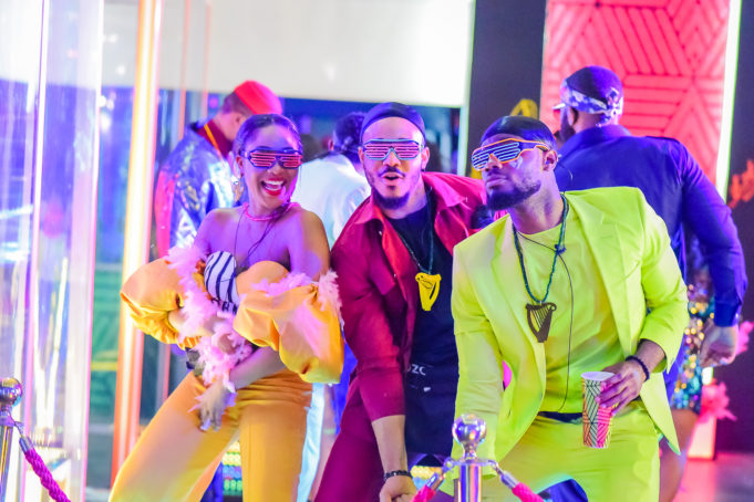 2020BBNaija: Colorful Photos From The Second Lockdown Night Party. Inn_6911