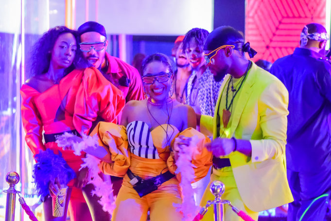 2020BBNaija: Colorful Photos From The Second Lockdown Night Party. Inn_7010