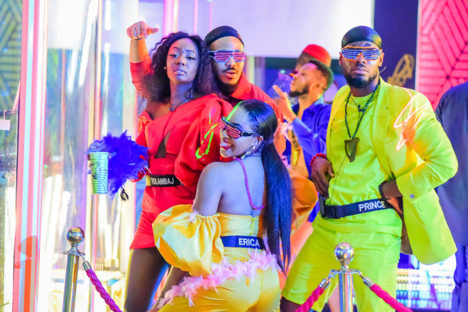 2020BBNaija: Colorful Photos From The Second Lockdown Night Party. Inn_7011