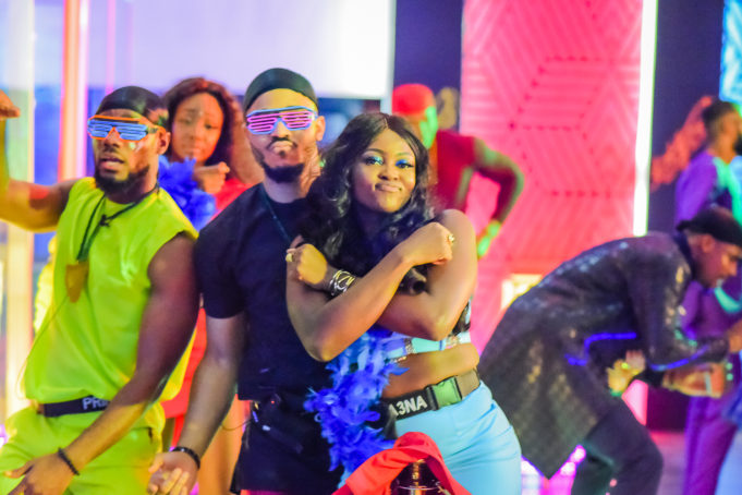 2020BBNaija: Colorful Photos From The Second Lockdown Night Party. Inn_7510