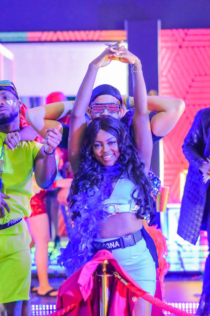 2020BBNaija: Colorful Photos From The Second Lockdown Night Party. Inn_7611