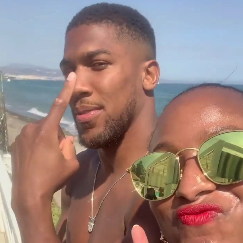 DJ Cuppy And Anthony Joshua Vacation in Spain (Watch video) Insho127