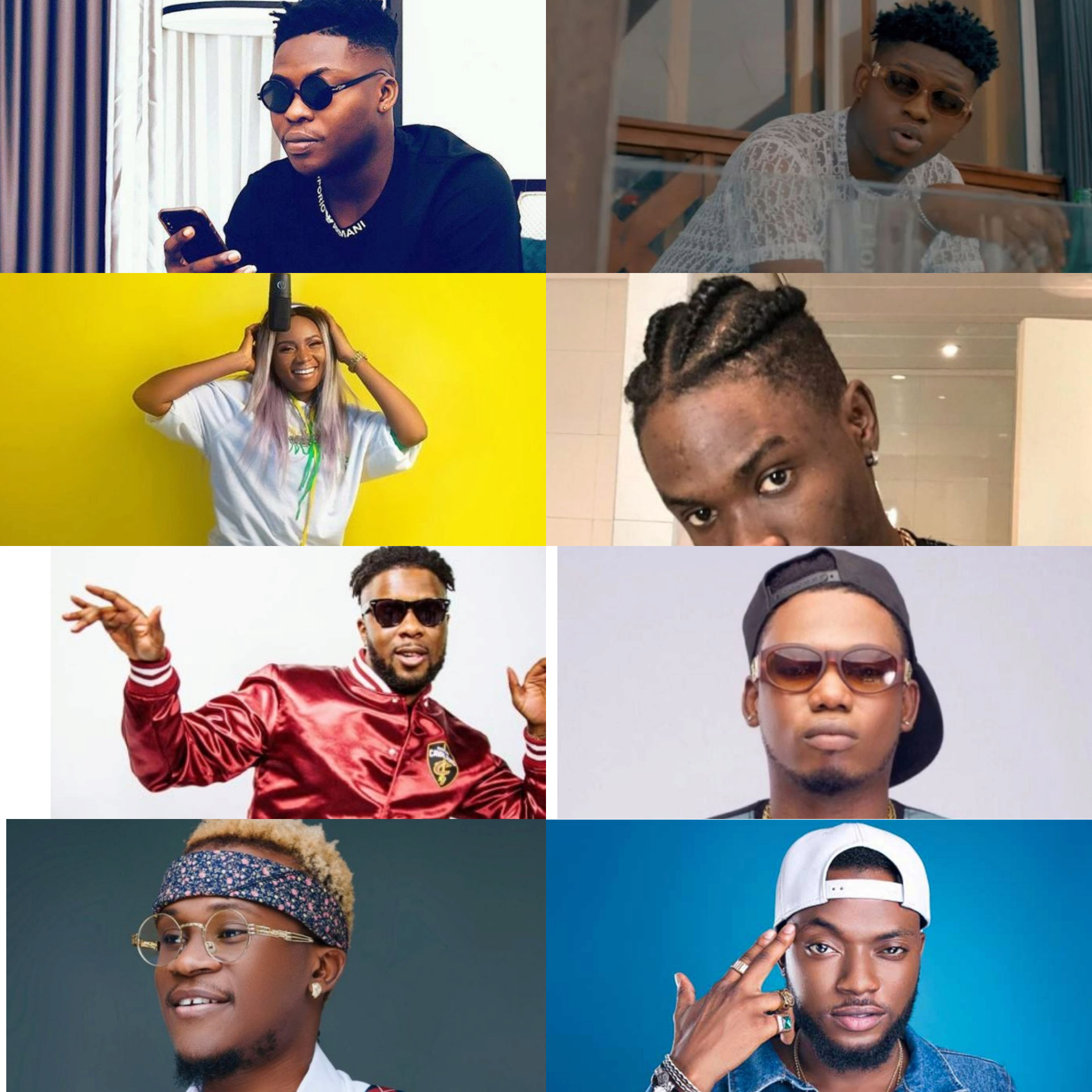 Top 10 Nigerian Artistes That Should Be Way Bigger Than The Level They Are Now Insho168