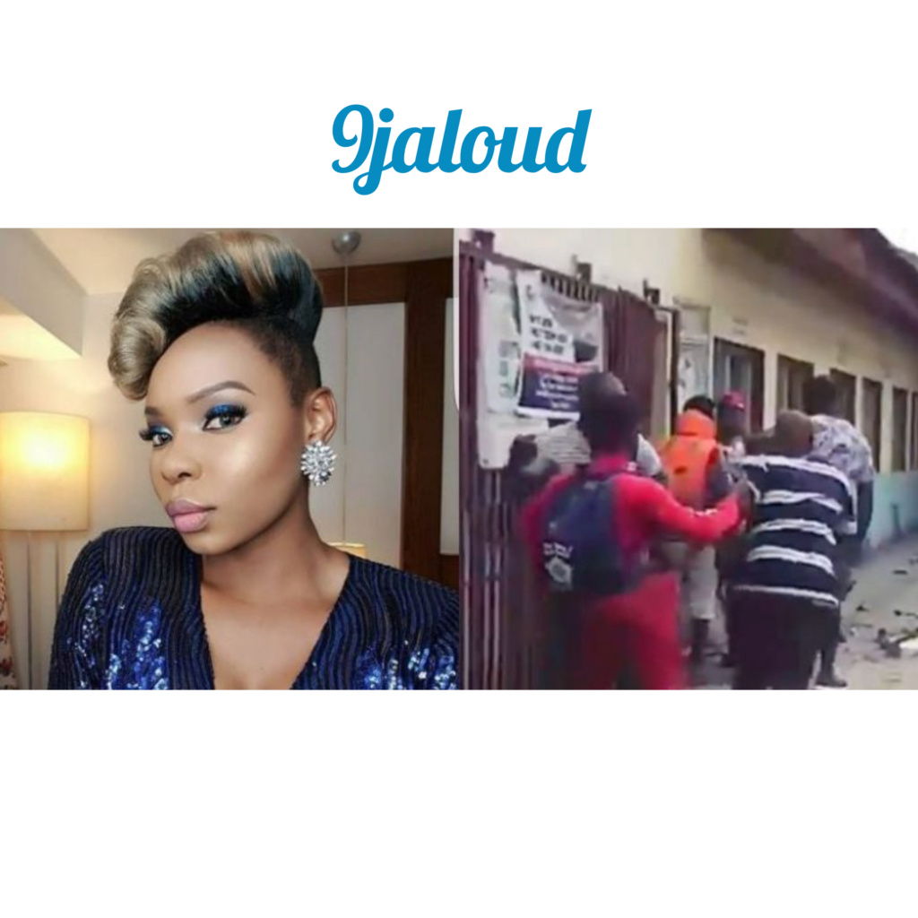 Yemi Alade slams policemen for harassing her dancer (Watch Video) Inshot17