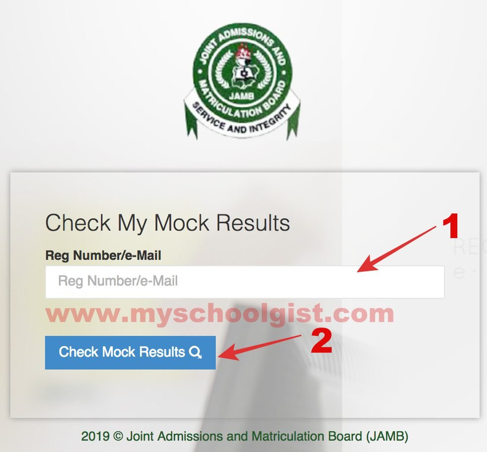 How To Check 2019 JAMB Mock Examination Result.  Jamb-m10
