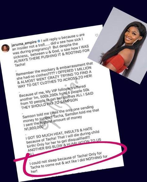 Jaruma Finally Calls Out Tacha, Reveals Why She Won't Give Her The Money She Promised Jaruma14