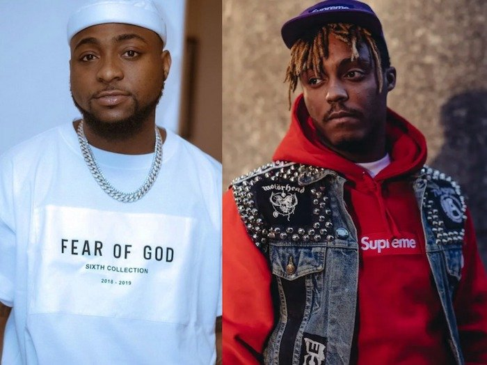 Davido Revealed He And Late Juice Wrld Has A Song Together Before He Passed On Yesterday Juoce10