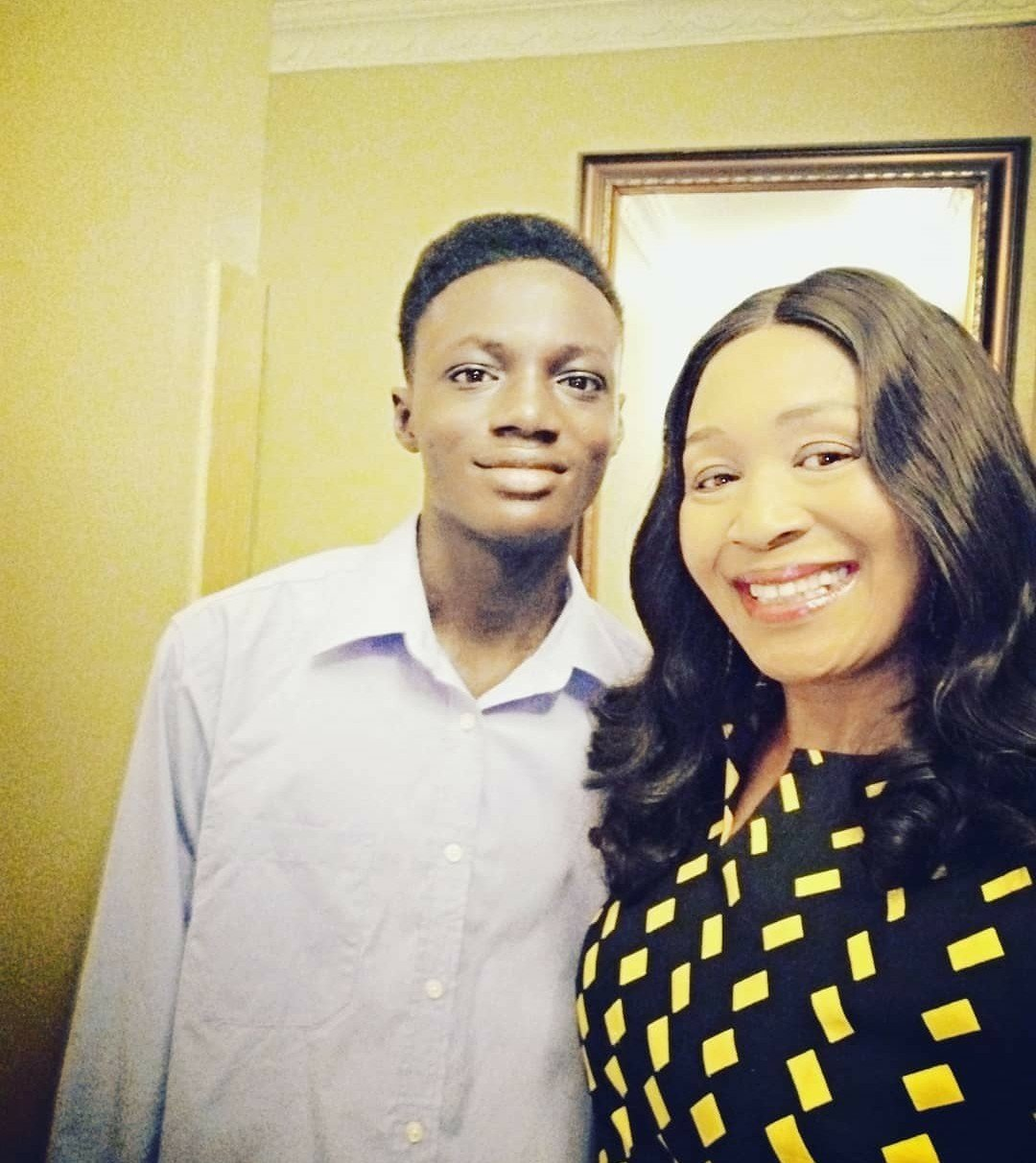 """You Look Hungry""- Titans Blast Kemi Olunloyo's Son On Twitter Kemi-o18"