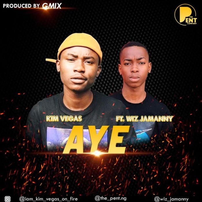 "Kim Vegaa – ""Aye"" Ft. Wiz Jaymanny 