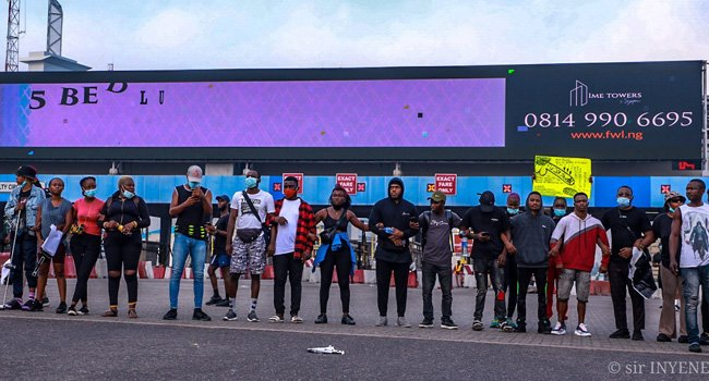 'End SARS Protest Is Beyond Police Brutality, It Is Battle Between The Rich And Poor' – Filmmaker Chika Lann Lekki-13