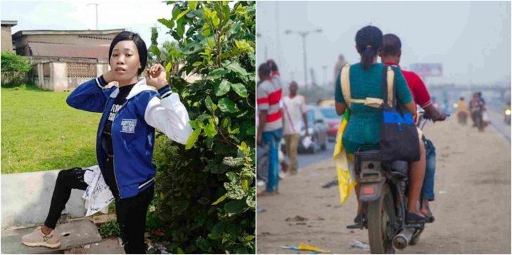I Took Bike From Lagos To Ibadan To Write My Final Exam – Lizzy Jay Lizzy-17
