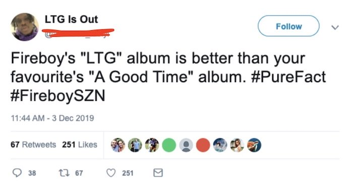 "Is Fireboy's ""Laughter, Tears & Goosebumps"" Album Really Better Than Davido's ""A Good Time"" Album? Ltg10"