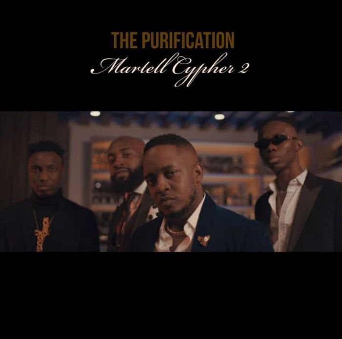 [Music + Video] M.I Abaga, Blaqbonez, A-Q & Loose Kaynon – The Purification (Martell Cypher 2) M_i-ab13