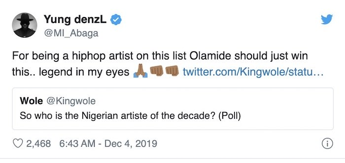 """""""Olamide Is The Artiste Of The Decade Not Wizkid"""" – M.I Abaga Says M_i-ab14"""