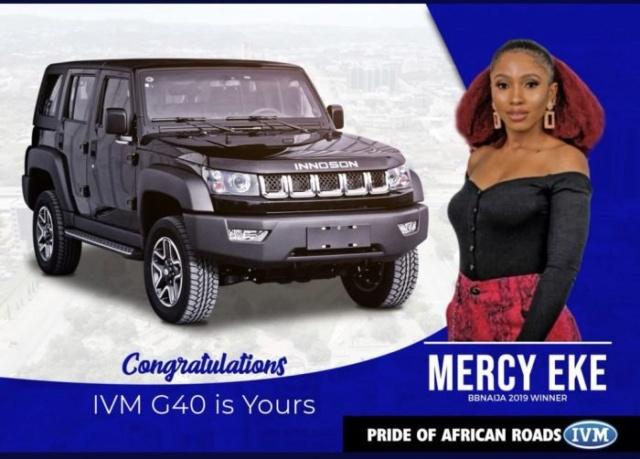 """Tunde Ednut Mocks The Car Given To Mercy By BBNaija, Calls It A """"Nepa Motor"""" Mercy-66"""