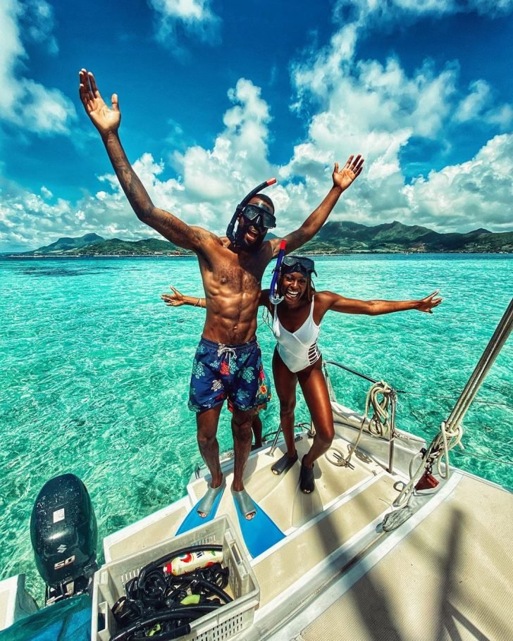 Mike Edwards And Wife Honeymoon In Mauritius As He  Shares Lovely Photos Mke-7210