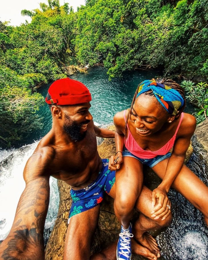 Mike Edwards And Wife Honeymoon In Mauritius As He  Shares Lovely Photos Mke2-710