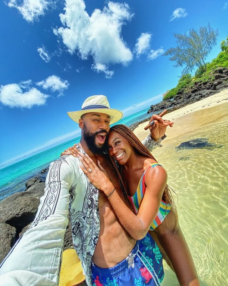 Mike Edwards And Wife Honeymoon In Mauritius As He  Shares Lovely Photos Mke3-710
