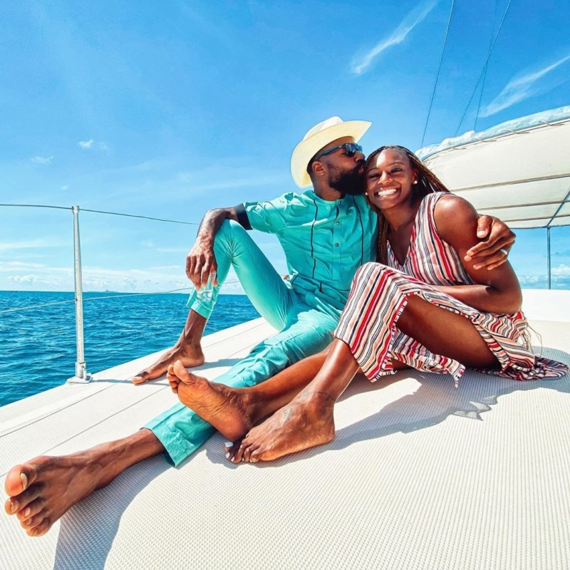 Mike Edwards And Wife Honeymoon In Mauritius As He  Shares Lovely Photos Mke411