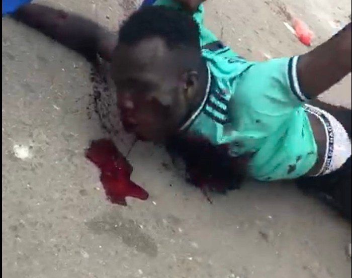 See How Police Shot A Guy Dead In Mushin Today (Watch Video) Mushin11