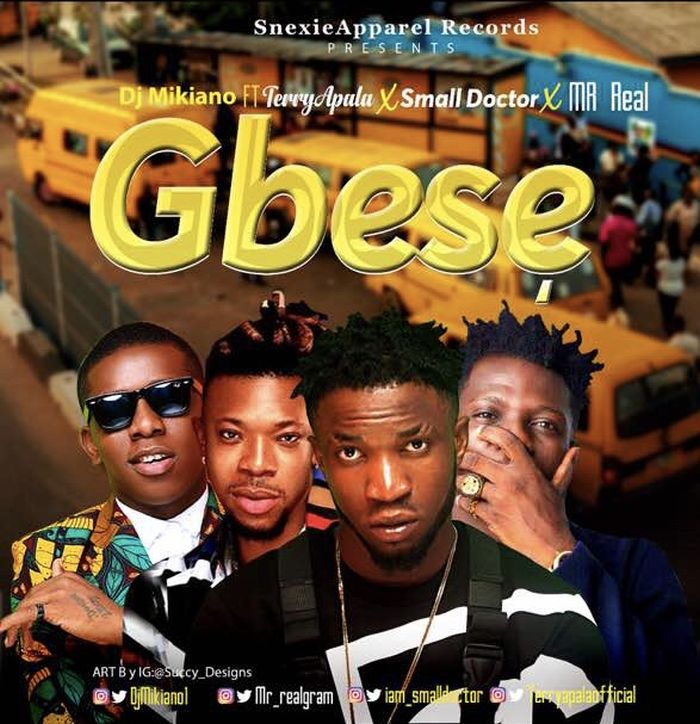 [Download Music] DJ Mikiano Ft. Mr Real, Small Doctor & Terry Apala – Gbese Music_13