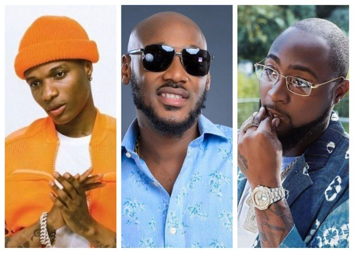 2face, Davido, Wizkid And Burna Boy – Who Do You Think Is The Most Influential Nigeria Artist Of All Time? Naijal15