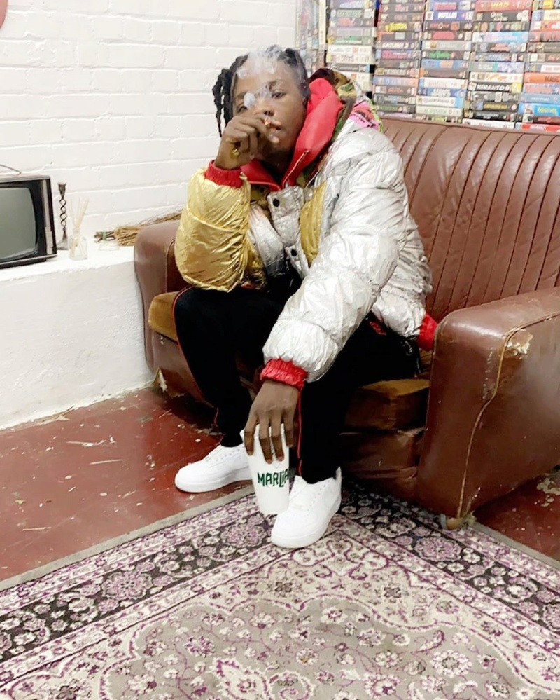 Naira Marley Shares Baby Scan Photo Of Him Smoking Before Birth Naira_31
