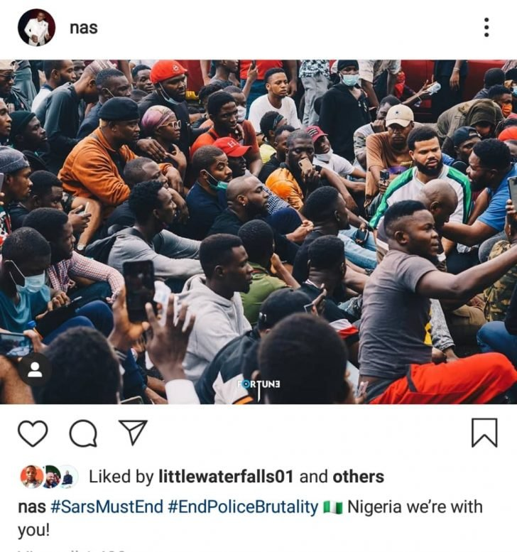 'Nigeria We Are With You' – Legendary American Rapper, Nas Reacts To #EndSAR Protests Nas-2-10