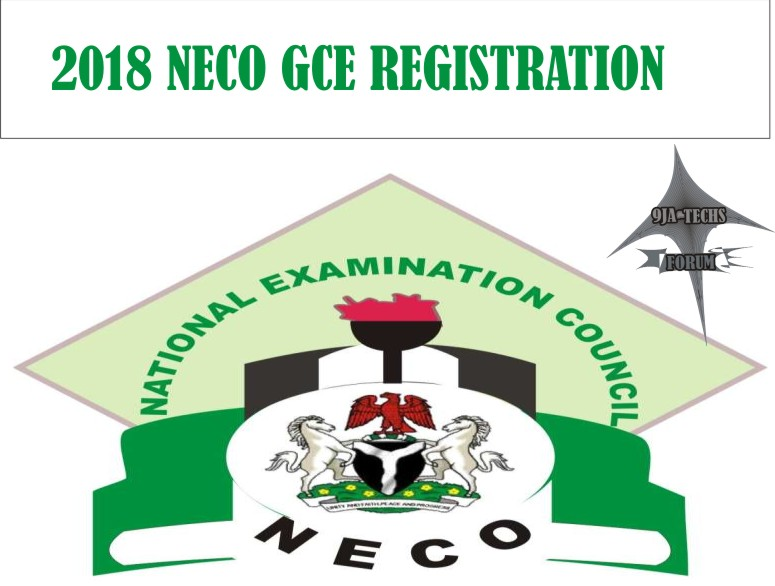 2018 Neco Gce Registration and Guidelines   Neco_g12