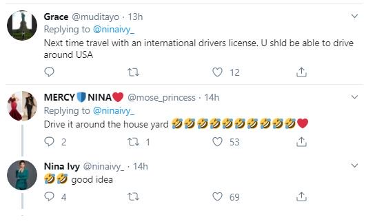 """So Because Of Drivers License, I Cant Drive His 2019 Range Rover?"" – Nina Laments Nina-312"