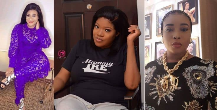Nkechi Blessing Sunday reacts to report she is snitching on her bestie, Toyin Abraham Nkechi10
